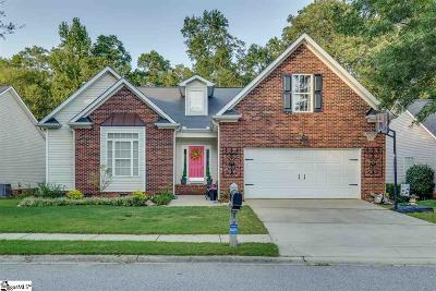Simpsonville Single Family Home For Sale: 605 Bindon