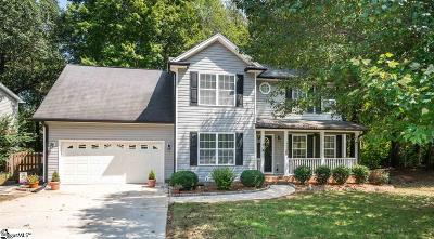 Simpsonville Single Family Home For Sale: 400 Waxford
