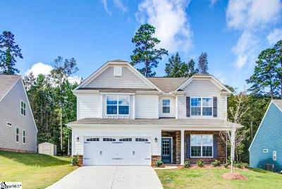 Simpsonville Single Family Home For Sale: 254 Hearthwood