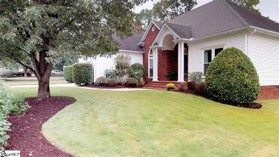 Greenville County Single Family Home For Sale: 208 Hypericum