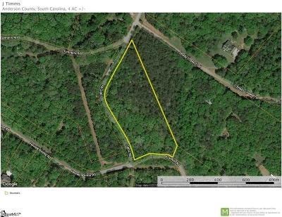 Anderson Residential Lots & Land For Sale: Capic