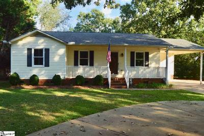 Anderson Single Family Home Contingency Contract: 2406 Old Williamston