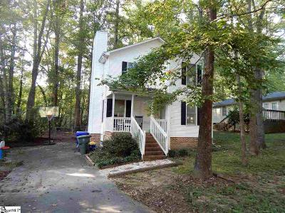 Greenville SC Single Family Home For Sale: $299,000