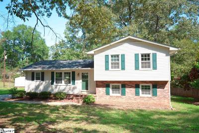Simpsonville Single Family Home For Sale: 408 Willowtree