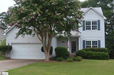 Mauldin Single Family Home For Sale: 602 Fieldgate