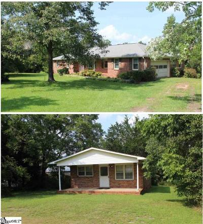 Pelzer Single Family Home For Sale: 100 Capell