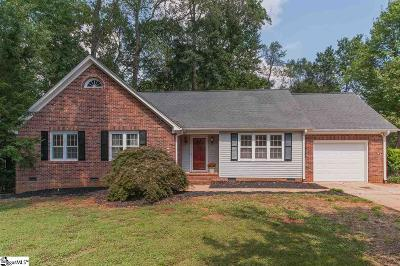 Greenville County Single Family Home Contingency Contract: 105 Doverdale