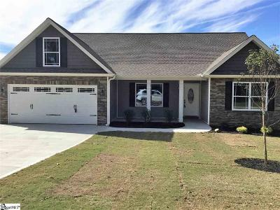 Inman Single Family Home For Sale: 111 Cochran
