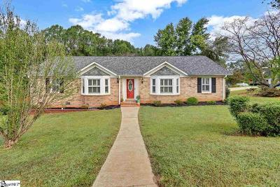 Greer Single Family Home Contingency Contract: 100 Northridge