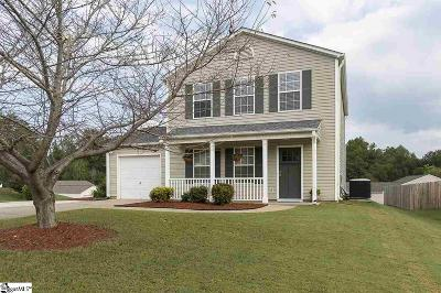 Taylors Single Family Home For Sale: 301 Winding Willow