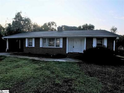 Spartanburg Single Family Home For Sale: 559 Glenwood