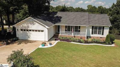 Simpsonville Single Family Home For Sale: 38 Staffordshire