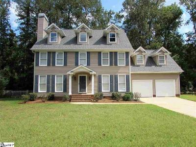 Greenville Single Family Home For Sale: 124 Forrester Creek