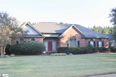 Simpsonville Single Family Home For Sale: 19 English Oak