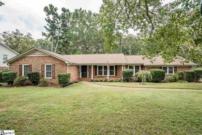 Greenville Single Family Home For Sale: 114 Seabury