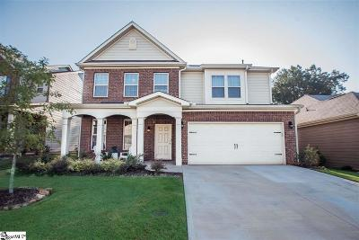 Simpsonville Single Family Home For Sale: 100 Redmont