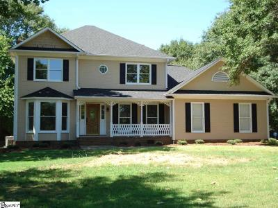 Spartanburg Single Family Home For Sale: 306 Woodgrove Trace