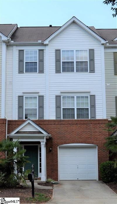 Greenville Condo/Townhouse For Sale: 814 Giverny