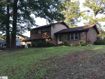 Simpsonville Single Family Home For Sale: 705 Neely Ferry