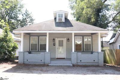 Greenville Single Family Home For Sale: 307 Frank