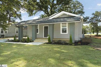 Greenville Single Family Home For Sale: 35 Traction