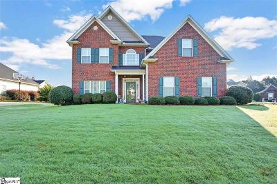 Greer Single Family Home For Sale: 101 Meadow Lake