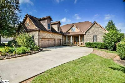 Simpsonville Single Family Home For Sale: 6 Ossabaw