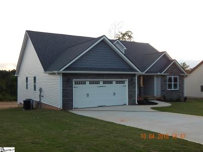 Inman Single Family Home For Sale: 161 Cothran #Lot# 3
