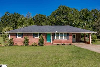 Pelzer Single Family Home For Sale: 24 Spring