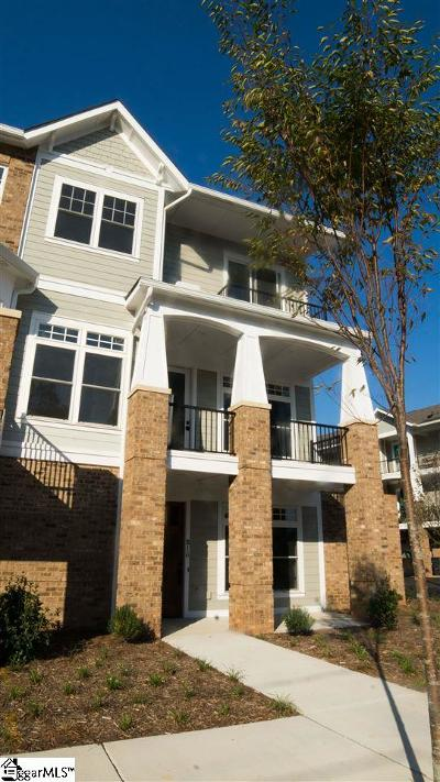 Greenville Condo/Townhouse For Sale: 100 S Hudson #B-16
