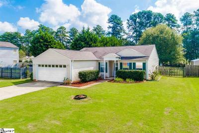 Simpsonville Single Family Home For Sale: 3 Pergola