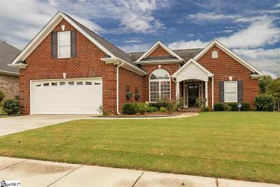 Simpsonville SC Single Family Home For Sale: $279,900