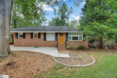 Greenville SC Single Family Home For Sale: $149,999