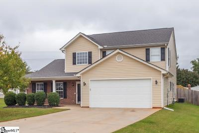 Greenville County Single Family Home For Sale: 102 Brigantine