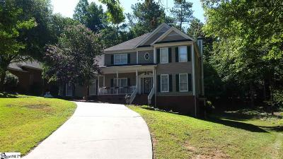 Laurens Single Family Home For Sale: 106 Fairway