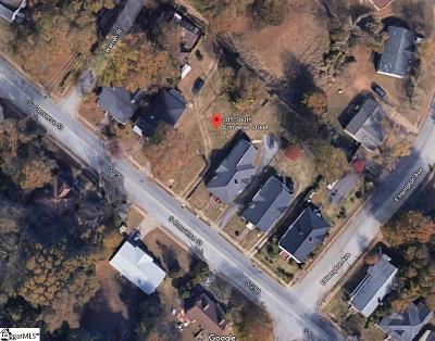 Spartanburg Residential Lots & Land For Sale: 385 S Converse