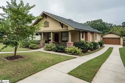 Greenville Single Family Home Contingency Contract: 410 Overbrook