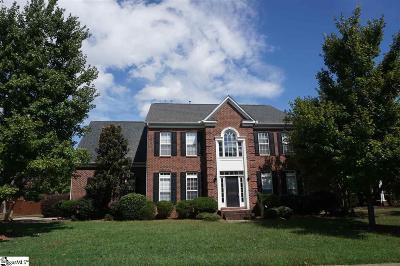 Simpsonville Single Family Home For Sale: 105 Highgrove