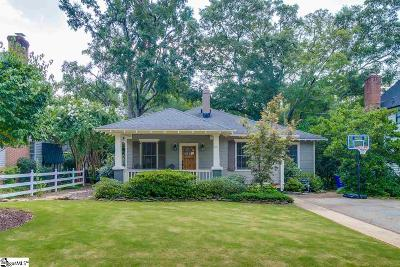 Greenville Single Family Home Contingency Contract: 116 Cureton