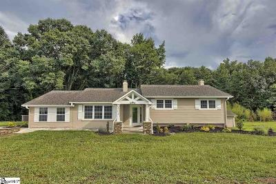 Simpsonville Single Family Home For Sale: 801 West Georgia