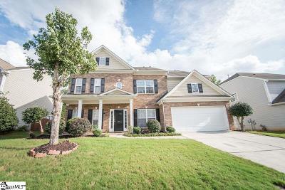 Simpsonville Single Family Home For Sale: 127 Jordan Crest