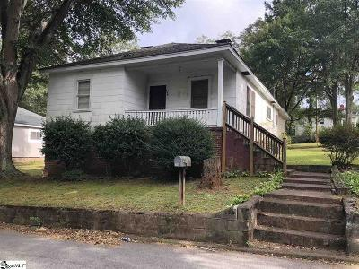 Easley Single Family Home Contingency Contract: 305 Blair