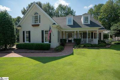 Simpsonville Single Family Home Contingency Contract: 104 Brook Hollow