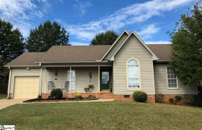 Simpsonville Single Family Home For Sale: 21 Northfield