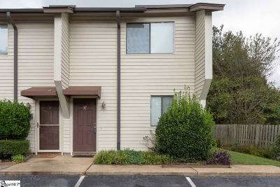 Greenville County Condo/Townhouse For Sale: 100 Buttercup #32