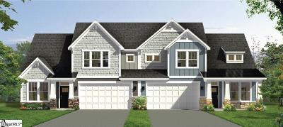 Greenville SC Condo/Townhouse For Sale: $270,000