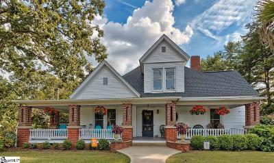 Simpsonville Single Family Home For Sale: 412 E Curtis