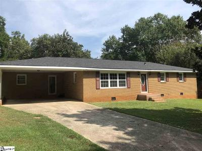 Spartanburg Single Family Home For Sale: 110 Skyview