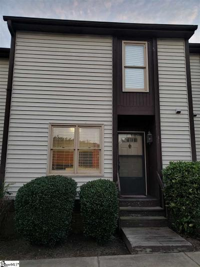 Greenville County Condo/Townhouse For Sale: 3210 Bethel #unit 31