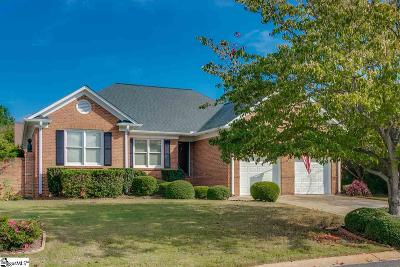 Greenville County Single Family Home For Sale: 7 Stonefield